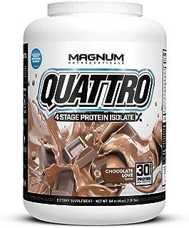 Sponsored Ad - Magnum Nutraceuticals Quattro Chocolate Love Lactose-Free Protein Powder for Men & Women (4 lbs.)