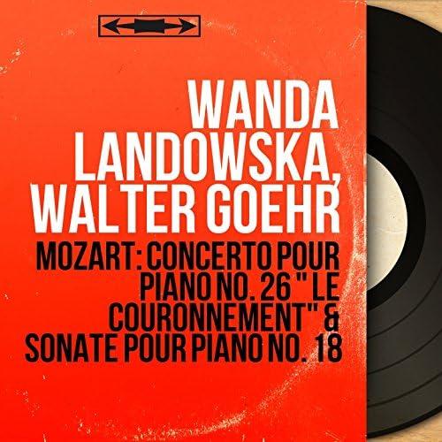 Wanda Landowska, Walter Goehr