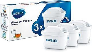 BRITA Maxtra+ Filtre à Eau Potable pour Carafe, 100L 3 Filtri Blanc