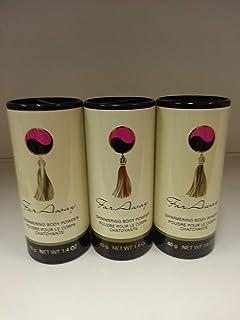 Avon Far Away Shimmering Body Powder Talc Lot 3 Pcs.