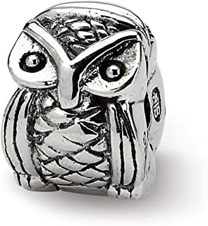 925 Sterling Silver Charm For Bracelet Kids Owl Clip Bead Kid Line Fine Jewelry Gifts For Women For Her