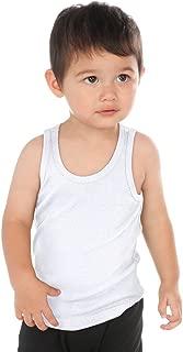 infant white tank top