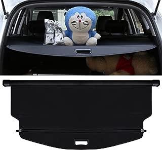 E-cowlboy 【Upgrade Version】 Cargo Cover for Chevrolet Equinox 2018 2019 Retractable Trunk Security Shield Shade (Black)