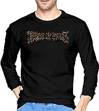 CHLOE KENT Mens Particular Cradle of Filth Long Sleeve T Shirts Black