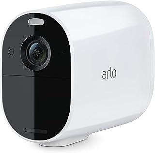 Arlo Essential XL Spotlight Wire-Free Camera – 1 Year Battery Life | Indoor/Outdoor Security Cameras | Color Night Vision,...