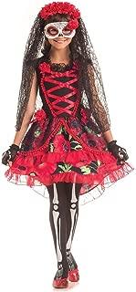 Party King Day of The Dead Senorita Costume for Kids