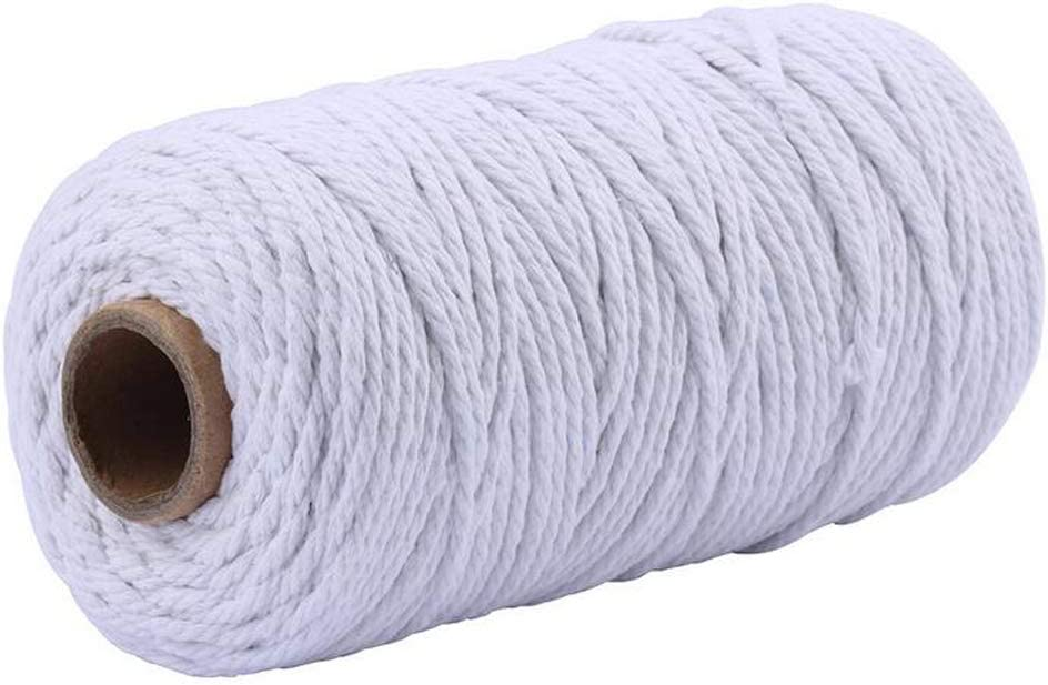 109 Yard Macrame Cotton 55% OFF Challenge the lowest price Cord 2mm String Co 4mm 3mm Twine Natural