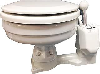 Raritan Fresh Head - Fresh Water Flush - Manual - Household Size - Right Hand Operation (54065)