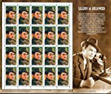 Edward G. Robinson Legends of Hollywood Collectible Stamp Sheet of 20 33¢ Stamps Scott 3446