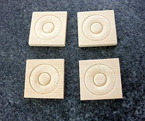 Melody Jane Constructeurs de Maison de Poupées Décorative Ensemble Garniture 4 Bois Coin Blocs Coins