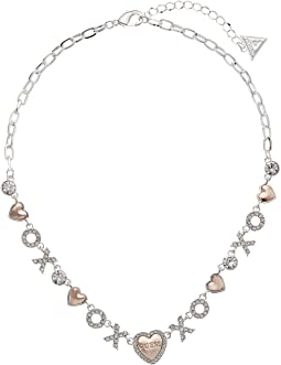 GUESS - XO Heart Necklace