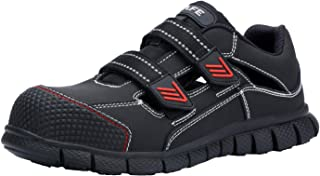 Men's Steel Toe Work Safety Sandals Summer Safety Shoes Quick-Drying