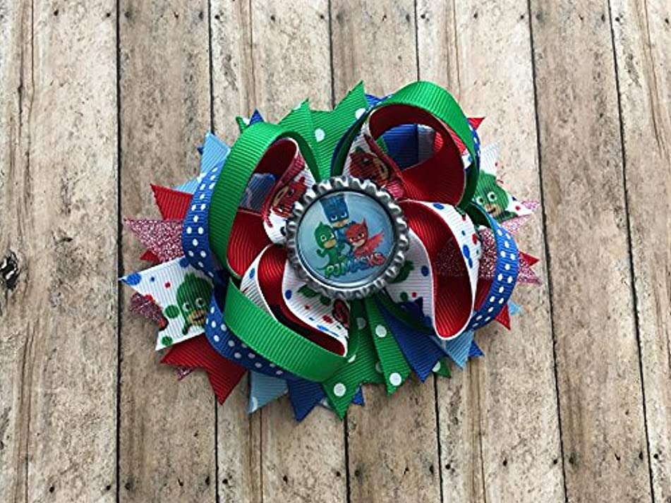 PJ Masks Inspired Bow by Inspired Bows