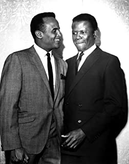 Harry Belafonte and Sidney Poitier Photo Print (8 x 10)