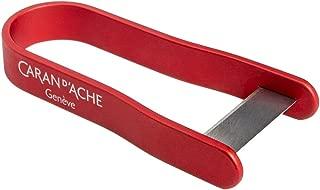 Caran d'Ache Aluminum Pencil Peeler, Red (475.070)