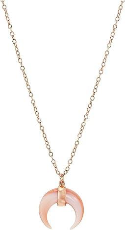 SHASHI - Tia Horn Pendant Necklace