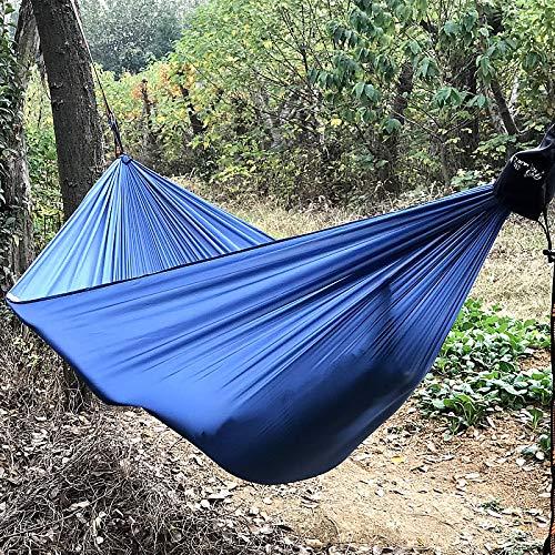 Hamaca Al Aire Libre King Size Camping Hamaca Paracaídas Doble Portátil Pareja Nylon Hamak Travel Survival