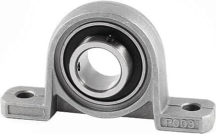 sourcingmap FL000 10mm alliage aluminium Bride /à alignement automatique palier lisse 2pcs