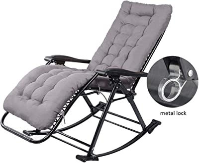 Amazon.com: LYXPUZI Chaise Lounges Rocking Chair Reclining ...