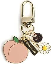 elago AirPods Keyring [Peach] - Charm for AirPods, Handbag, Tote, Purse, Backpack, Bag, Car