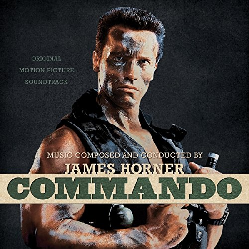 COMMANDO: ORIGINAL MOTION PICTURE SOUNDTRACK (LIMITED BONE WITH BLACK FACE PAINT SPLATTER VINYL) [12 inch Analog]