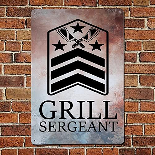 43LenaJon Grill Sergeant, divertida barbacoa para hombres, hombres para asar regalos para...