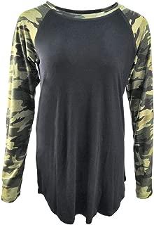 Buffalo Plaid Shirt Womens Plus Size Long Sleeve Elbow Patch Tunic Tops