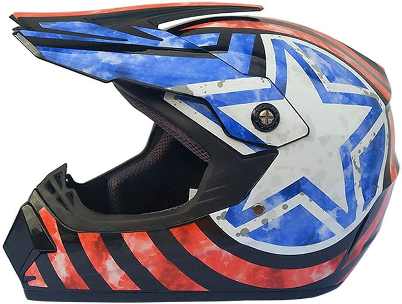 Motocross Youth Kids Helmet DOT Approved  Motorbike Moped Motorcycle Off Road Full Face Crash Downhill Four Wheeler Helmet for Street Bike Dirt Bike BMX ATV