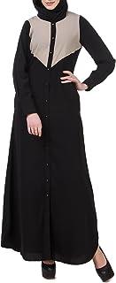 Leey Abaya Donna Islamico Abiti Musulmani Caftan Dubai Jalabiya Vestiti islamici Maxi Abito Musulmano Burqa Dress