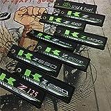 Colección del Bordado de la Motocicleta sostenedor de la Llave del Llavero for Kawasaki Z125 z250 z300 z650 z750 z800 z900 Z1000 Mei Racing (Color : For Z650)