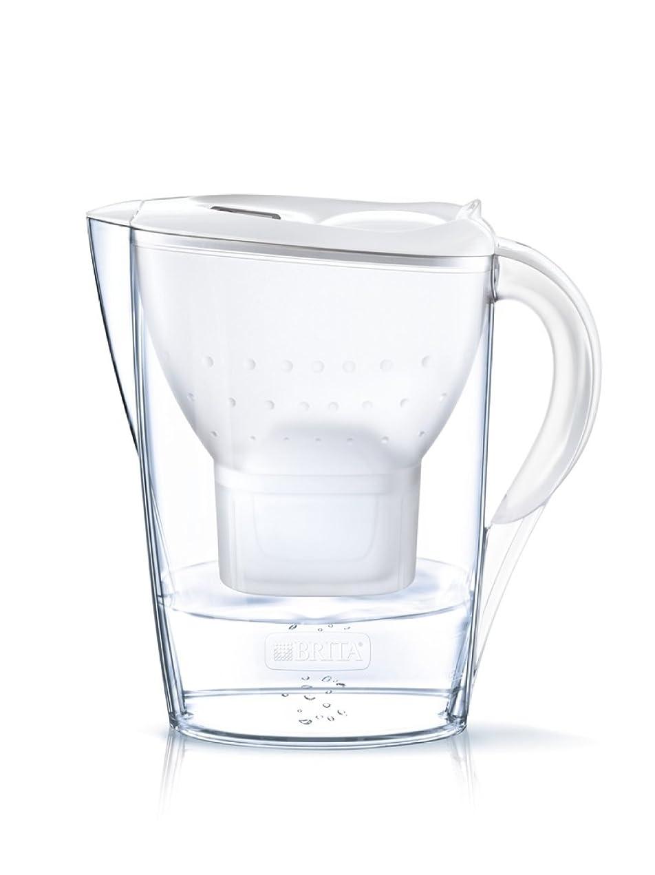ジョージバーナード傾向追い出すブリタ 浄水器 ポット 浄水部容量:1.4L(全容量:2.4L) マレーラ COOL ポット型 マクストラプラス カートリッジ 1個付き 【日本仕様?日本正規品】