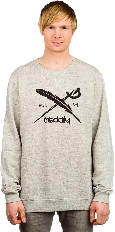 Iriedaily Herren Sweater Chamisso Logo Crew Sweater