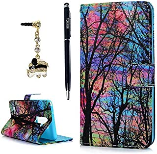YOKIRIN LG G Stylo 2 LS775 (2016) Case, LG G Stylus 2 L82VL L81VL K540 K520 Case Fashion Wallet Premium PU Leather Flip Folio Cover with Kickstand Card Holders Magntic Closure Ptotective Skin