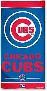 WinCraft MLB Chicago Cubs A1877115 Fiber Beach Towel, 9 lb/30