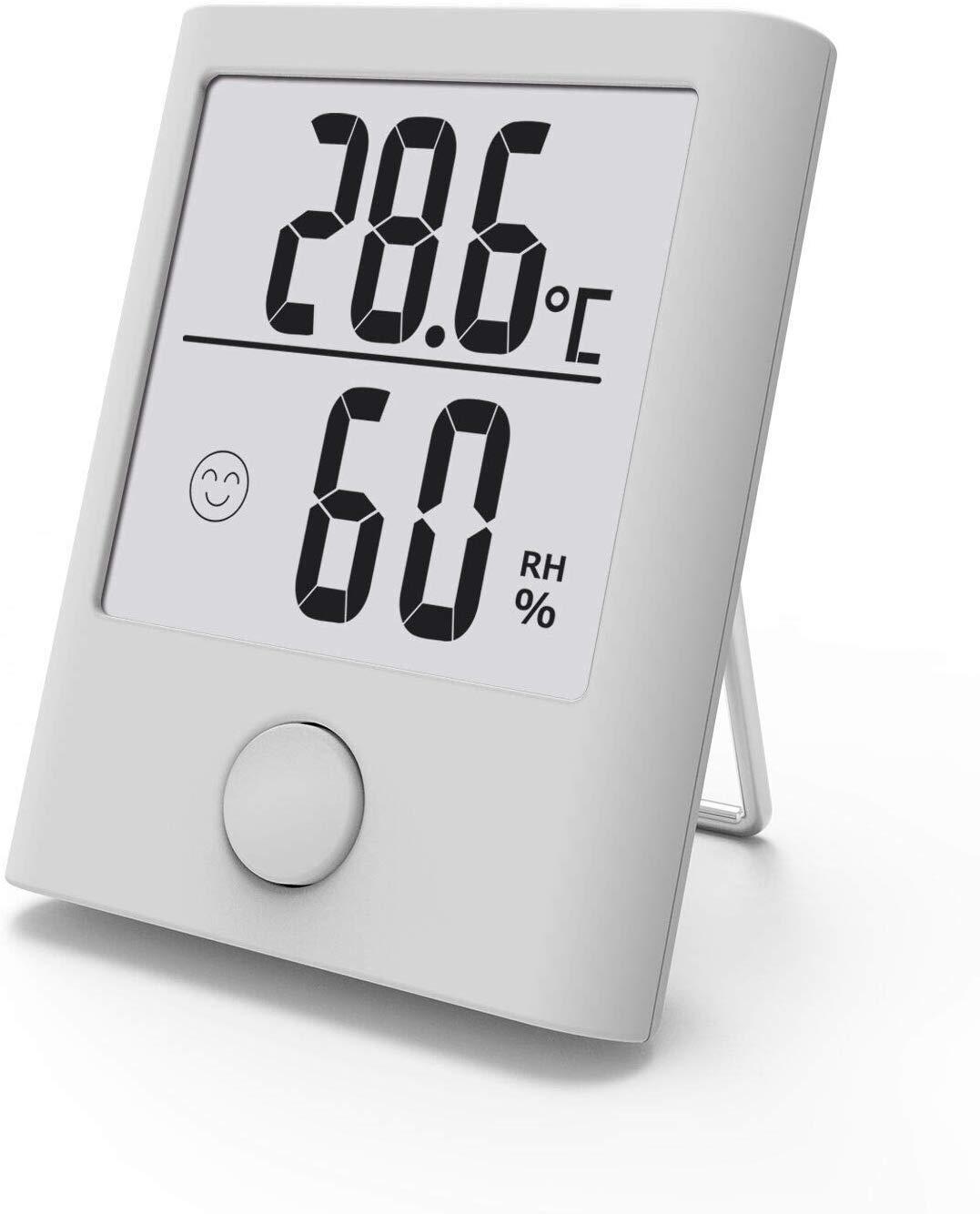 BALDR B16 Hygrometer Innen, Digital Tragbares Thermometer