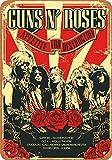 Guns N' Roses Blech Blechschild Warnschild Schilder Retro