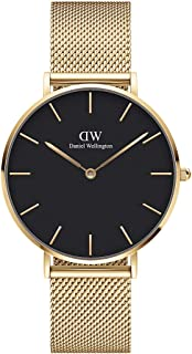 Daniel Wellington Unisex's Petite Evergold, 36mm, Black