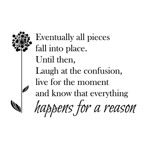 Everything Happens For A Reason Quote Amazoncom