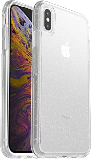 OtterBox SYMMETRY CLEAR SERIES Case for iPhone Xs Max - Retail Packaging - STARDUST (SILVER FLAKE/CLEAR)