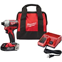 Milwaukee M18 18-Volt Cordless 1/4 in. Impact Driver w/Battery Deals