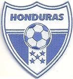 MAREL Patch Honduras - Parche termoadhesivo con el escudo de la selección de fútbol de la FIFA Soccer, 7,5 x 6,8 cm, réplica