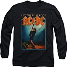 ACDC Let There Be Rock Album Longsleeve T Shirt & Stickers