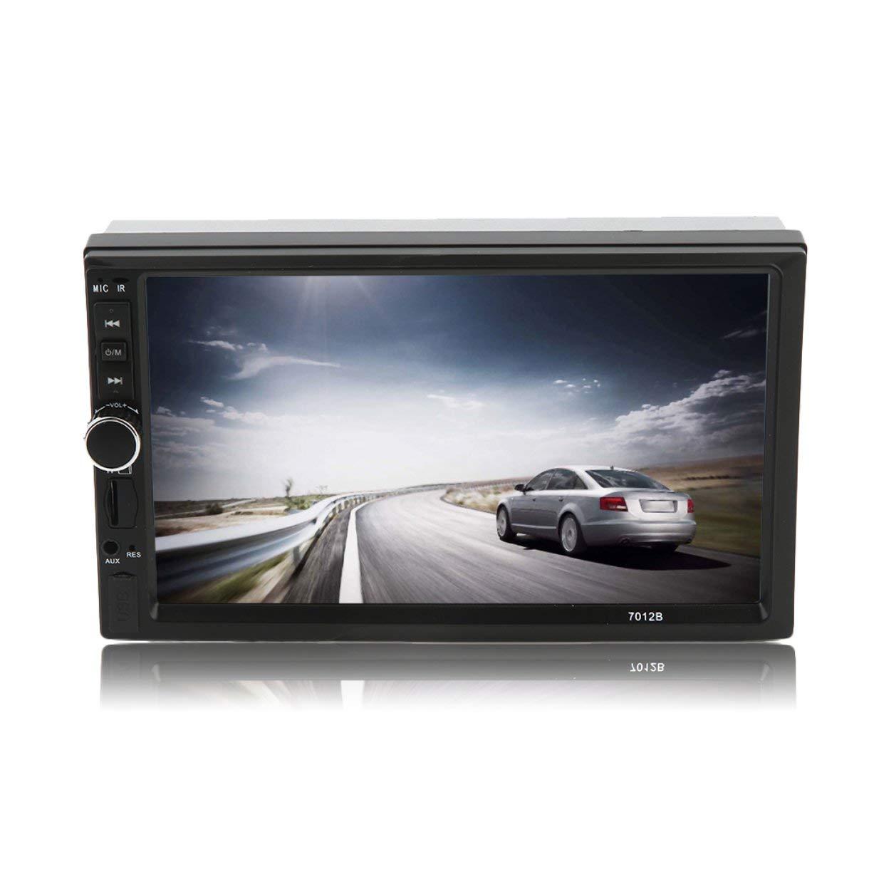 Jugador del Coche mp5, 7 Pulgadas HD Touch Screen Auto Vehículo Audio Reproductor de vídeo – Radio ooths Gran Jugador FM/MP5 con cámara de Retroceso, para Auto Entretenimiento: Amazon.es: Electrónica