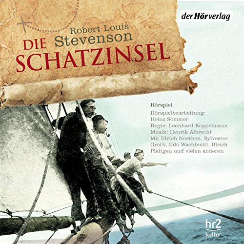 Die Schatzinsel                   By:                                                                                                                                 Robert Louis Stevenson                               Narrated by:                                                                                                                                 Ulrich Noethen,                                                                                        Ulrich Pleitgen,                                                                                        Udo Wachtveitl                      Length: 3 hrs and 59 mins     1 rating     Overall 5.0