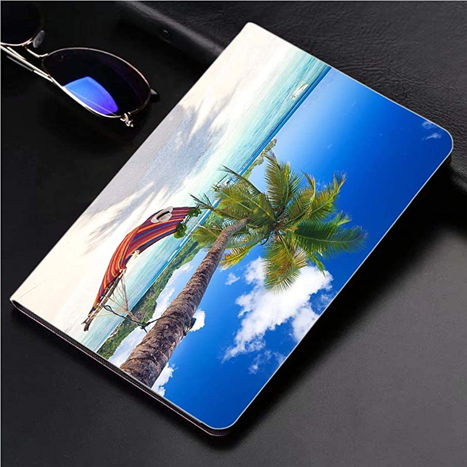 Compatible with 3D Printed iPad Pro 10.5 Case Tropical Paradise Beach 360 Degree Swivel Mount Cover for Automatic Sleep Wake up ipad case c523519083