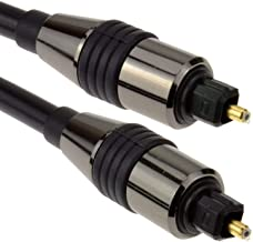 Cable Toslink de audio óptico compatible con SAMSUNG HT, SONY HT, Panasonic, JVC TH Series, Playstation, Xbox, Polk, Boss ...