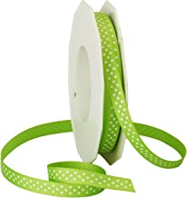 Double Faced Satin Ribbon Lime Apple Green Col 601