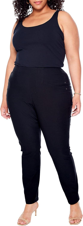 NIC+ZOE Plus Size Wonderstretch Jeans