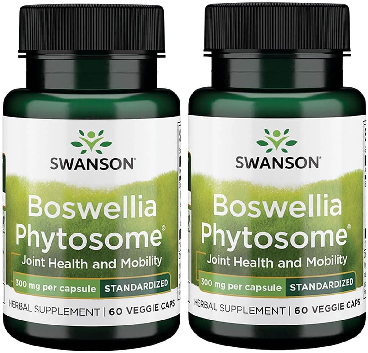 Swanson Standardized Boswellia Phytosome 着後レビューで 送料無料 300 現品 Veg C 60 Milligrams