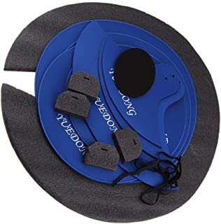 KESOTO ドラムミュート 消音パッド ドラムセット アクセサリー 全4選択 - 8個セット, サイズA